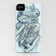 Life & Love at Sea iPhone (4, 4s) Slim Case