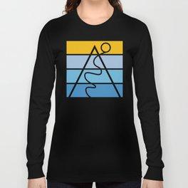 Sunset Mountain Long Sleeve T-shirt