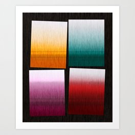 Abstract Composition 505 Art Print