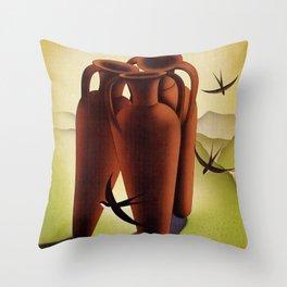 Porretta Terme Throw Pillow