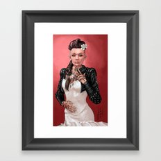 Mass Effect - Jack's Wedding Framed Art Print