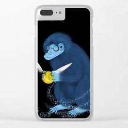 Expecto Patronum Niffler Clear iPhone Case