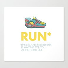 Funny quotes Canvas Print