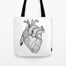 Study of the Heart Tote Bag