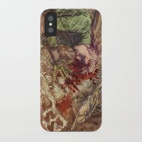 scary iPhone & iPod Cases featuring Scary Monster by Fabi