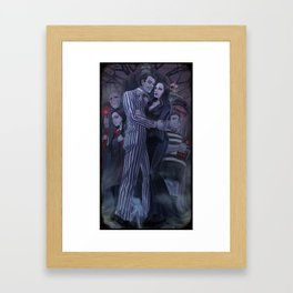 The Addams Family Framed Art Print