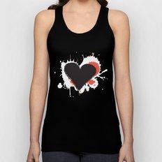 I Heart Live Art II Unisex Tank Top
