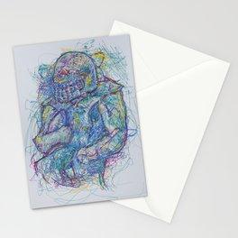 Rushing Runningback Stationery Cards