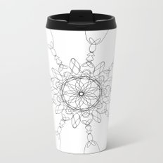 mandala - love Metal Travel Mug