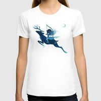 archer T-shirts featuring Elf Archer by Freeminds