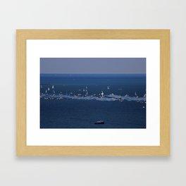 Aerodynamic Framed Art Print