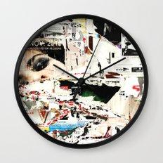 Collide 1 Wall Clock
