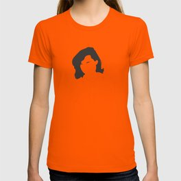 Patricia Highsmith Minimal Black and White Illustration T-shirt