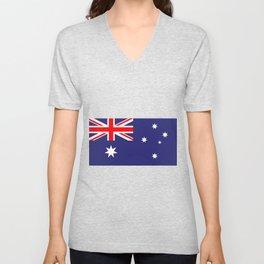 Flag of Australia Unisex V-Neck
