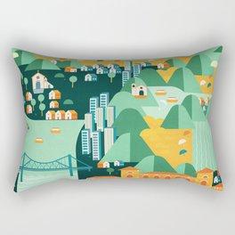 Floripa Brazil Rectangular Pillow