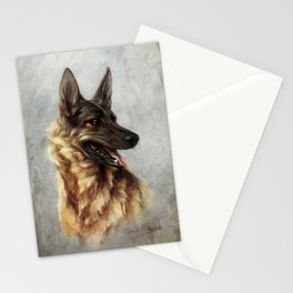 The Story of the Dog 1939 - German Shepherd Stationery Cards