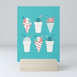 Snow Cones Mini Art Print