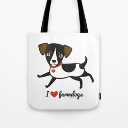 I love farmdogs Tote Bag