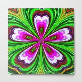 Abstract - Petals Metal Print