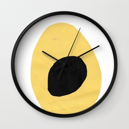 Yellowcado Wall Clock