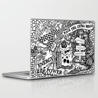 boxing Laptop & iPad Skins featuring Boxing inspiration by JessicArt