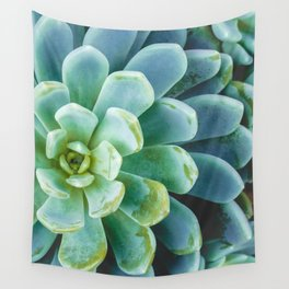 Succulent 01 Wall Tapestry