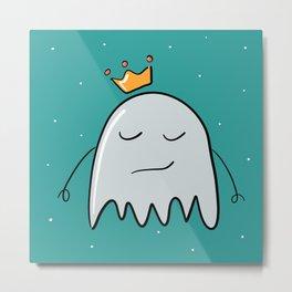 Ghost in the crown Metal Print