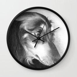The Dachshund Wall Clock