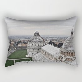 View From The Leaning Tower Rectangular Pillow