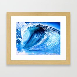 Heaven's Wedge Framed Art Print