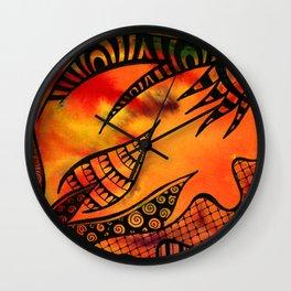Dantes Depths Wall Clock
