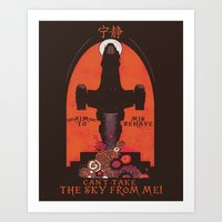 propaganda Art Prints featuring Browncoat Propaganda by Hillary White