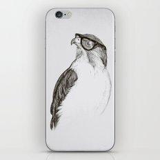 Hawk with Poor Eyesight iPhone & iPod Skin