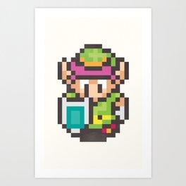 Link 8-Bit Art Print