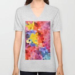 Cristal Watercolor Unisex V-Neck