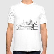 fabulous city Mens Fitted Tee SMALL White