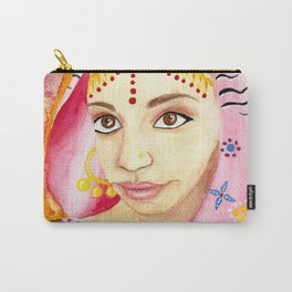 India Bride - Ethnic Art Carry-All Pouch
