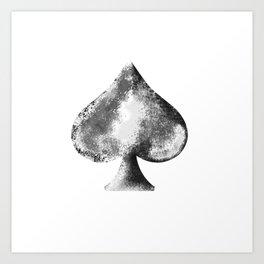 Weathered Spade Art Print