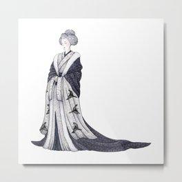 Yuki Onna Metal Print