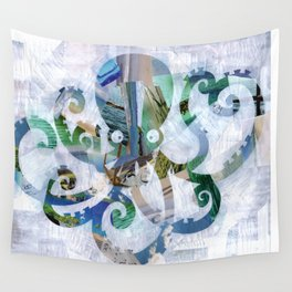 For the love of Octopus Wall Tapestry