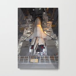 753. Launch of Space Shuttle Atlantis STS-132 Metal Print