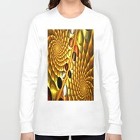 fractal Long Sleeve T-shirts featuring Fractal by Digital-Art