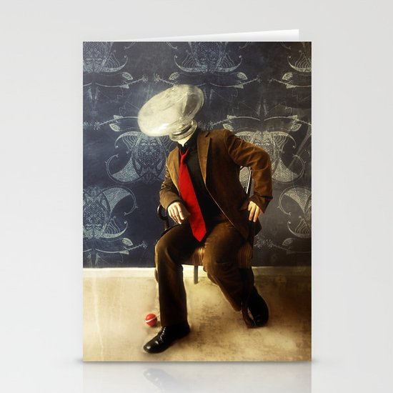 Mr. Glitch, 2 Stationery Cards