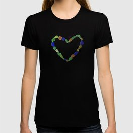 And the Greatest of These is Love #heart #seaglasssmiles T-shirt