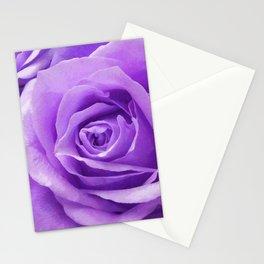Violet roses Stationery Cards