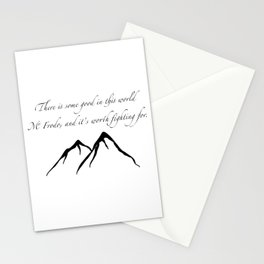 Sam quote Stationery Cards