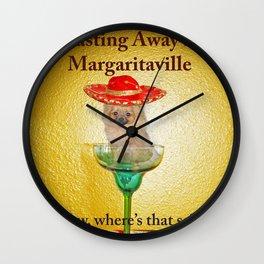 Pomerism: Margaritaville Wall Clock