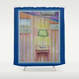 The Study Shower Curtain