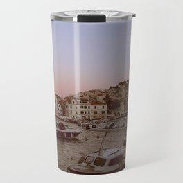 Croatian Harbour Travel Mug