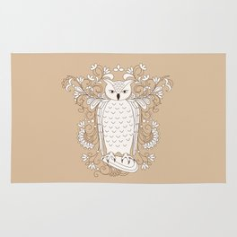 zen owl Rug